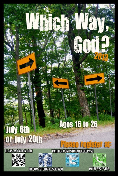 which way God 2013 flyer